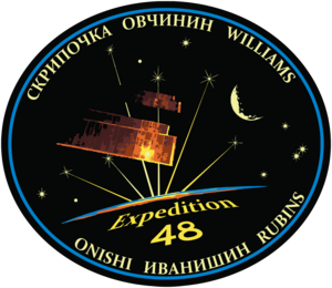 Expedition 48 Mission Patch