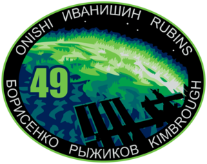 Expedition 49 Mission Patch