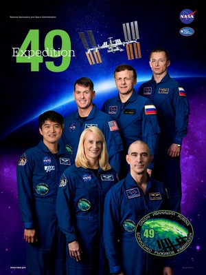 Expedition 49 Mission Poster