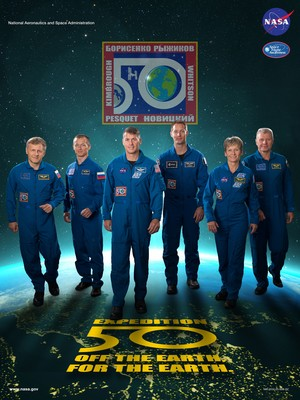 Expedition 50 Mission Poster