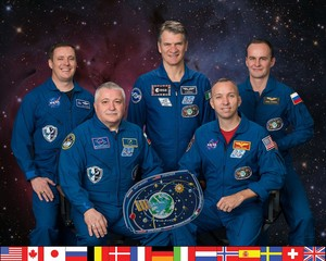Expedition 52 Mission Crew