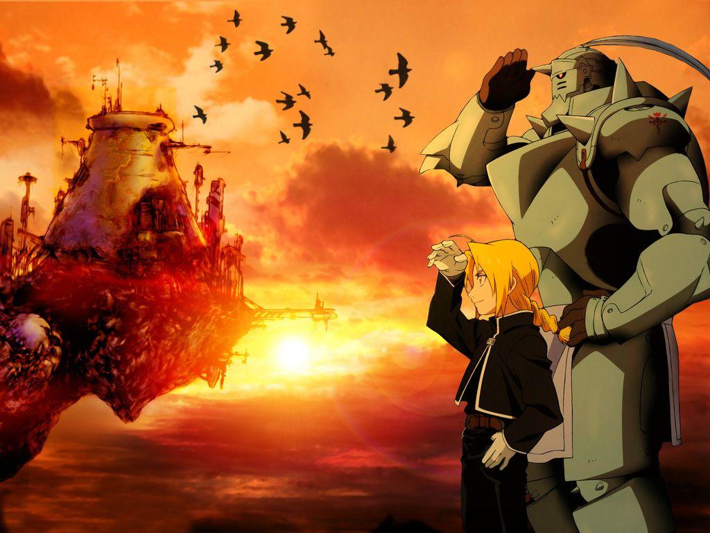 Fma Wallpaper Fullmetal Alchemist Brotherhood Anime