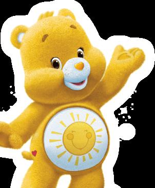 Care Bears wallpaper entitled Funshine Bear