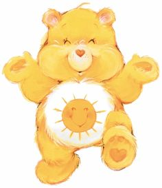 Care Bears wallpaper titled Funshine Bear