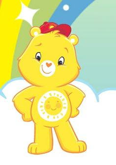 Care Bears wallpaper called Funshine Bear