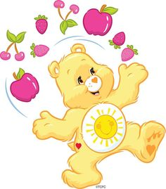 Care Bears wallpaper entitled Funshine Bear