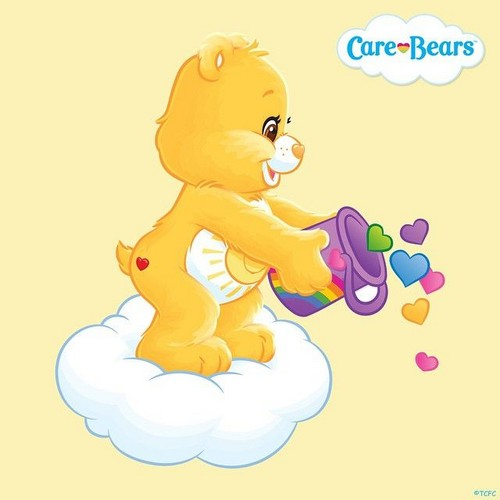 Care Bears Обои called Funshine медведь