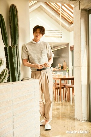 GONG YOO FOR APRIL'S MARIE CLAIRE