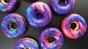 Galaxy bánh doughnut
