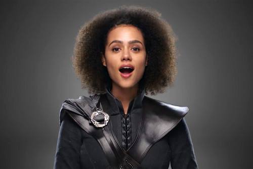 Game of Thrones kertas dinding called Nathalie Emmanuel as Missandei