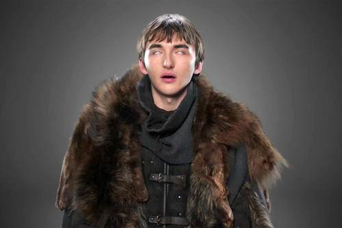 Game of Thrones wallpaper called Isaac Hempstead-Wright as Bran Stark
