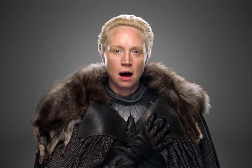 Game of Thrones wallpaper titled Gwendoline Christie as Brienne of Tarth