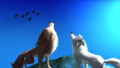 alpha-and-omega - Garth and Lilly howling  wallpaper