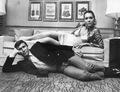 George and Diana - On Her Majesty's Secret Service - james-bond photo