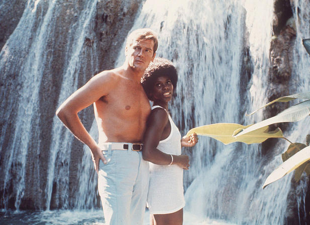 Gloria Henry And Sir Roger Moore