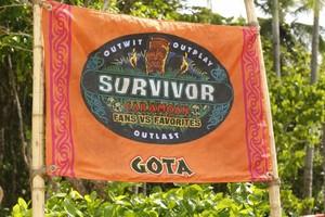Gota (Fans) Tribe Flag (Caramoan)