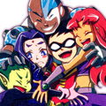 Group Hug - teen-titans fan art