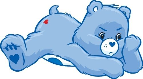 Care Bears wallpaper titled Grumpy Bear