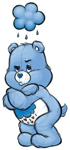 Grumpy menanggung, bear
