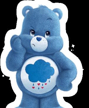 Care Bears Hintergrund entitled Grumpy bär
