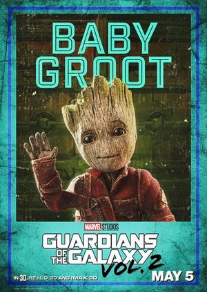 Guardians Of The Galaxy Vol. 2 ~ Character Poster - Baby Groot