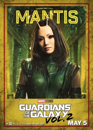 Guardians Of The Galaxy Vol. 2 ~ Character Poster - Mantis
