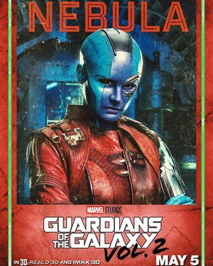 Guardians Of The Galaxy Vol. 2 ~ Character Poster - Nebula