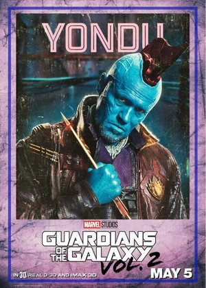 Guardians Of The Galaxy Vol. 2 ~ Character Poster - Yondu