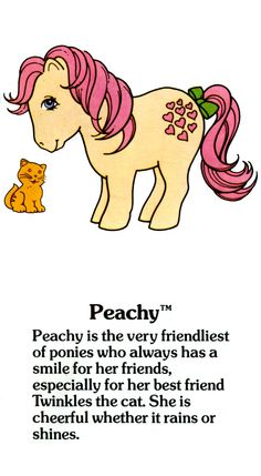 Peachy Fact File