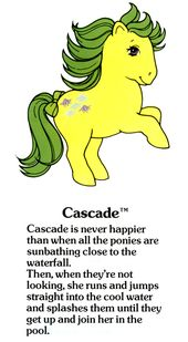 Cascade Fact File