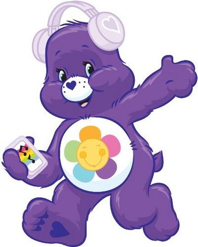Care Bears wallpaper titled Harmony Bear