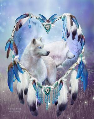 hati, tengah-tengah Of A serigala, wolf 2 sejak Carol Cavalaris