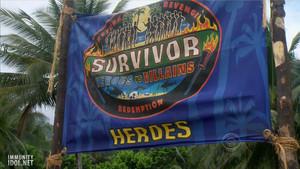 히어로즈 Tribe Flag (Heroes Vs Villains)