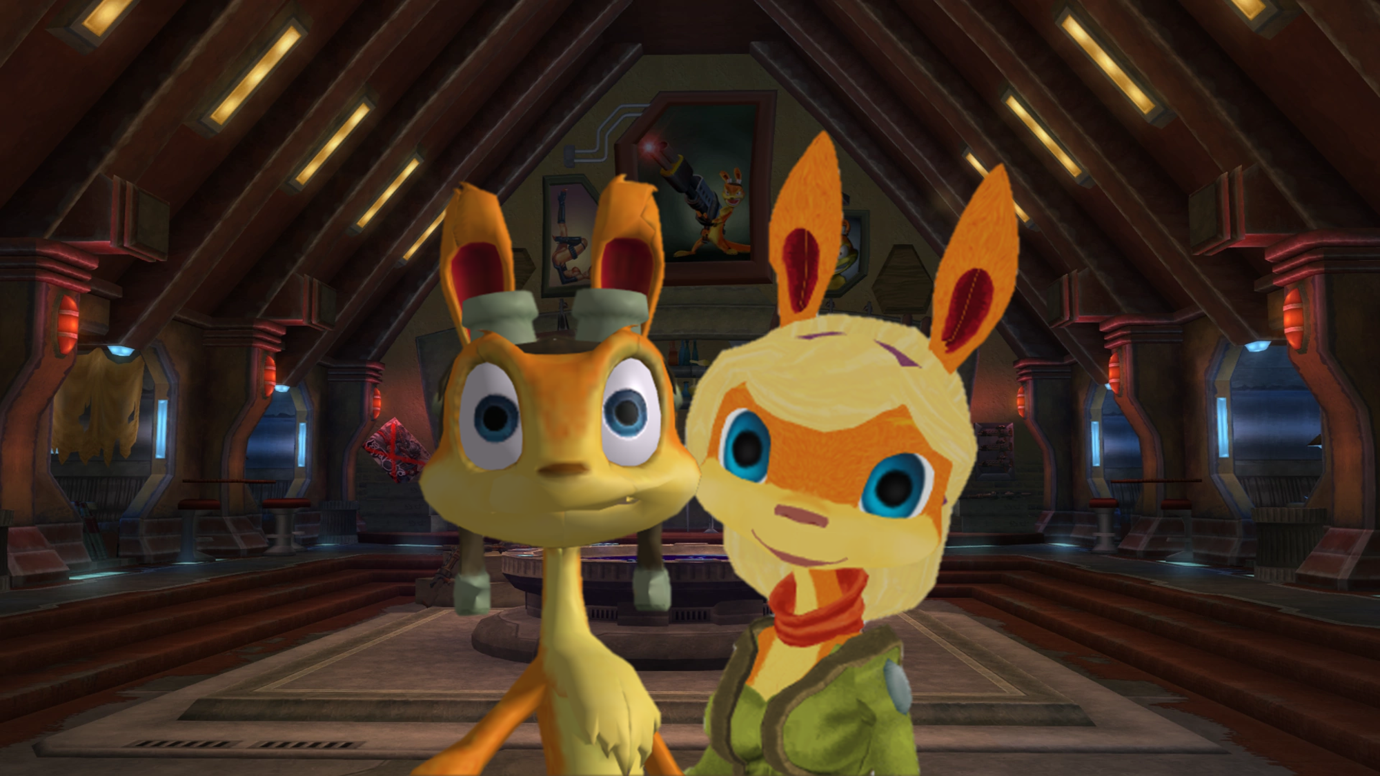 Home of Naughty Ottsel Daxter x Tess XPS MMD - daxter Fan