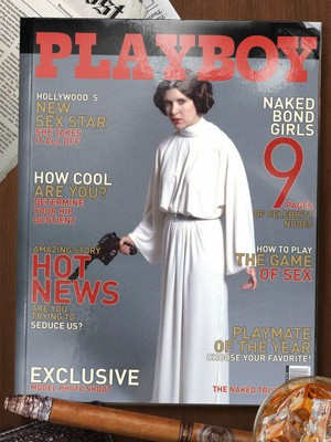 Leia Playboy Cover