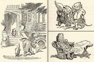Illustrations por E. H. Shepard