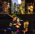 Jak x Keira Hagai and Daxter x Tess Wallpaper - jak-and-daxter photo