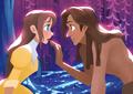 Jane and Tarzan - jane-porter fan art