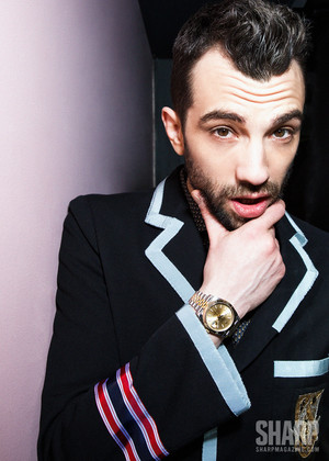Jay Baruchel - Sharp Magazine Photoshoot - 2017