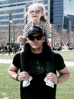Jensen with JJ