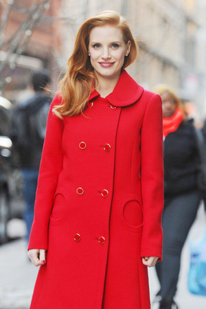 Jessica Chastain GOTS Michael Kors Rupert Sanderson 3