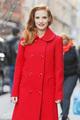 Jessica Chastain GOTS Michael Kors Rupert Sanderson 3 - womens-fashion photo