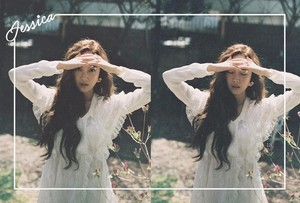 "Jessica's Concept foto's for The New Single ""Because It's Spring"""