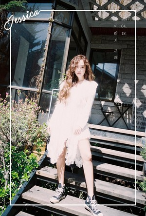 "Jessica's Concept fotografias for The New Single ""Because It's Spring"""