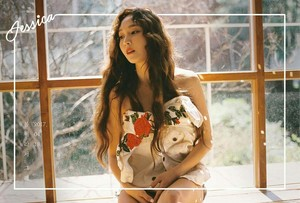 "Jessica's Concept foto for The New Single ""Because It's Spring"""