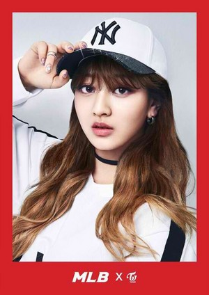 Jihyo - Sports Casual Brand MLB