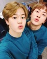 Jimin and Jin