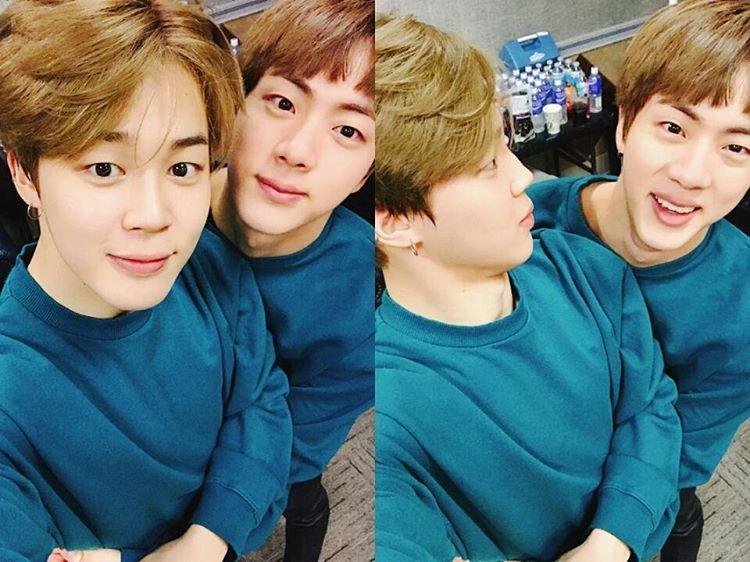 Jimin and Jin - BTS Foto (40325078) - Fanpop