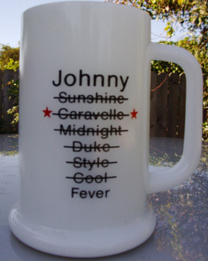 Johnny Fever Custom Mug