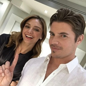 Josh Henderson and Christine Evangelista